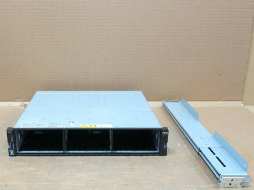 "IBM Storwize V5000 2078-24E Expansion Array 24 x SFF 2.5"" 2 x EMM And 2 x PSU's"